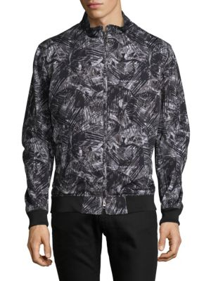 SAND Palm Camo Cotton Jacket in Grey