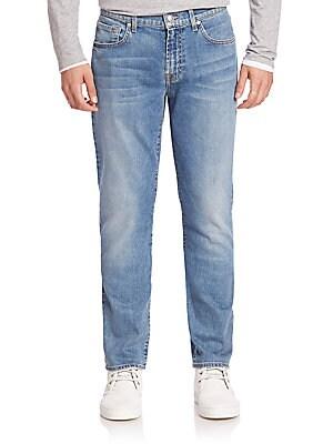 Straight' Slim Straight Jeans