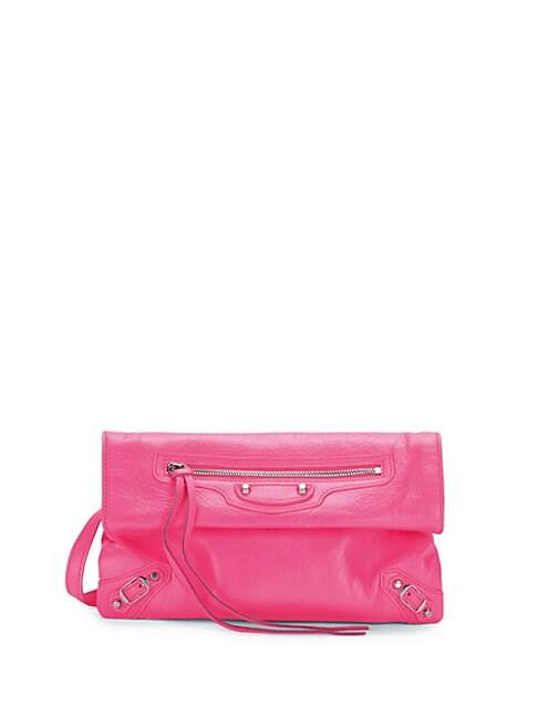 Mini Arena Envelope Leather Crossbody Bag