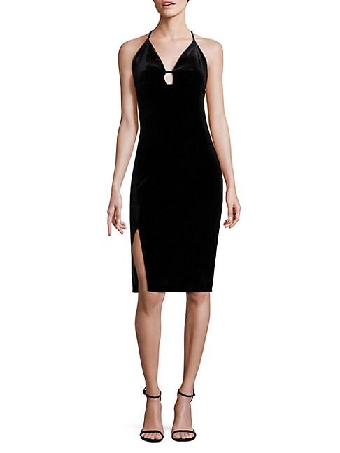 Elizabeth Velvet Dress