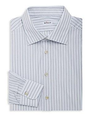 Cotton Striped Dress Shirt