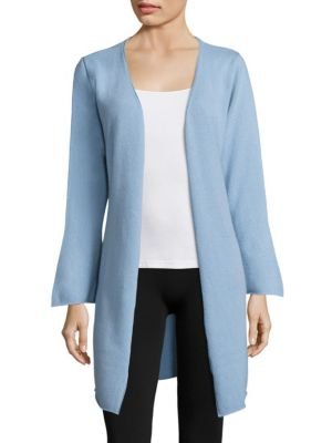 ARLOTTA Cashmere Short Duster in Blue