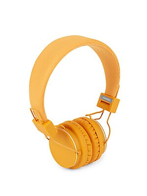Plattan On-Ear Orange Headphones
