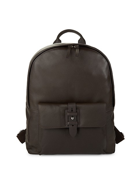 Leather Backpack image number NaN
