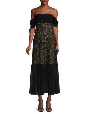 Arlene Lace Dress in Black