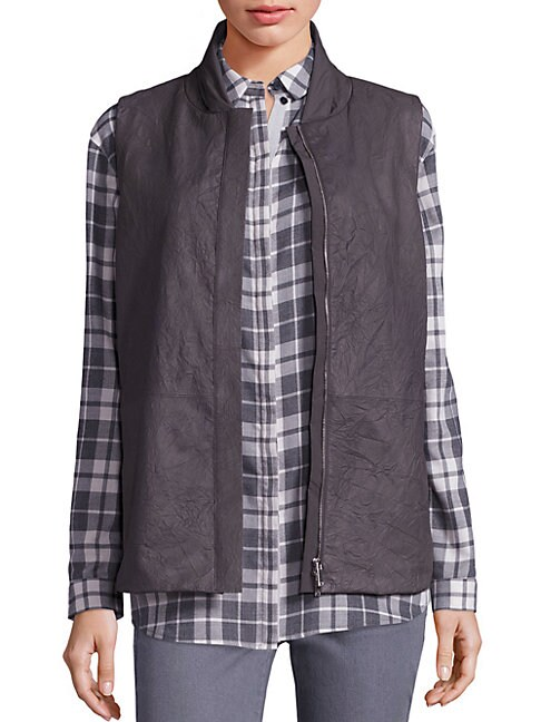 Leather Kaelyn Vest