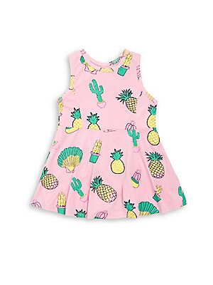 Baby's Printed Sleeveless Dress