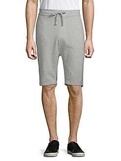 Jetlag - Drawstring Cotton Knit Shorts