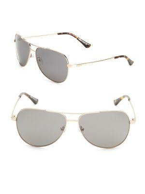 REVO Johnston 59Mm Aviator Sunglasses in Gold