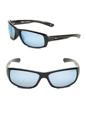 REVO Camber 62Mm Polarized Square Sunglasses in Black