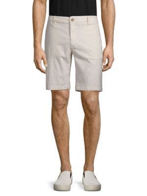 TAILOR VINTAGE Classic Slim Shorts in Pebble