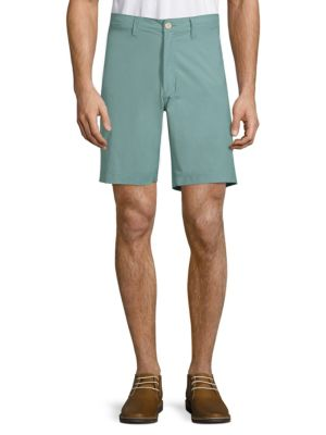 TAILOR VINTAGE Stretch Chino Shorts in Artic