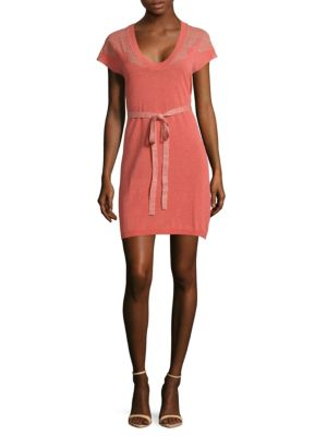 Rimo Cny Knit Dress in Pink