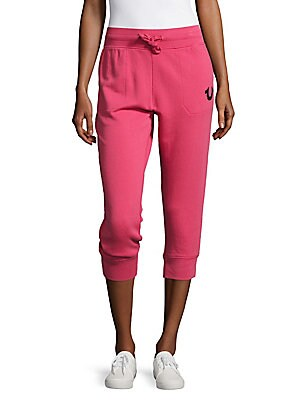 Cotton Solid Capri Pants
