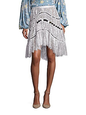 Adorn Crystal Lace Skirt
