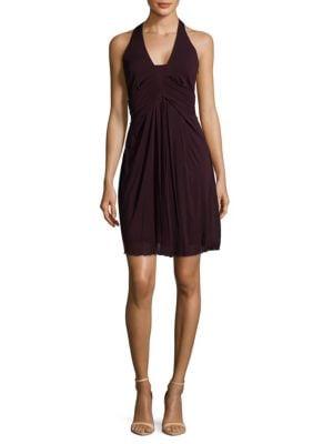 Karen Millen Wrapped Halter Dress