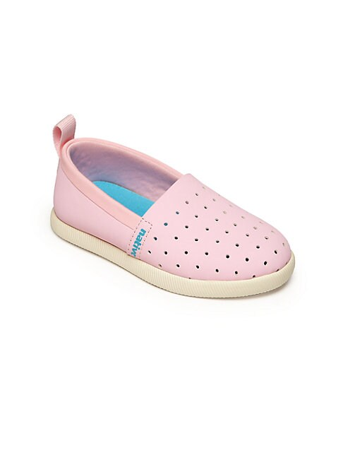 Baby's & Kid's Perforated Slip-On Shoes