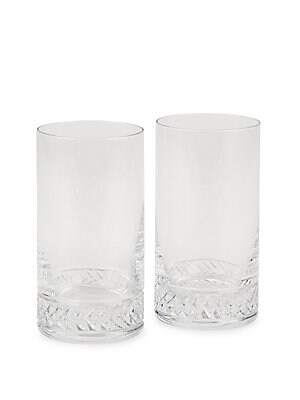 Braid Highball Crystal Glass