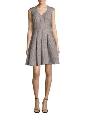 Karen Millen Inverted Pleat Dress