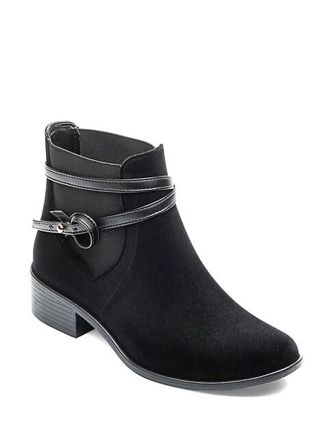 Peony Velvet Rain Boots