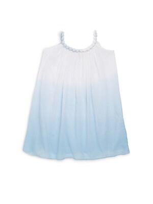 Little Girl's & Girl's Halterneck Trapeze Dress