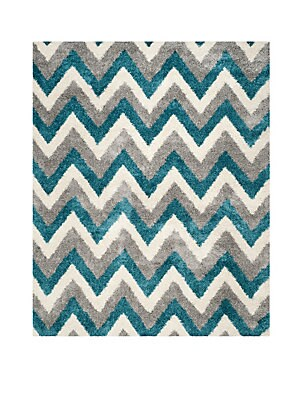 Chevron Patterned Rug