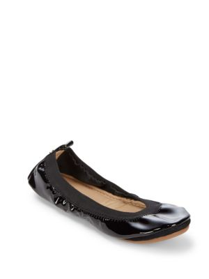 Yosi Samra Samara Solid Leather Ballet Flats