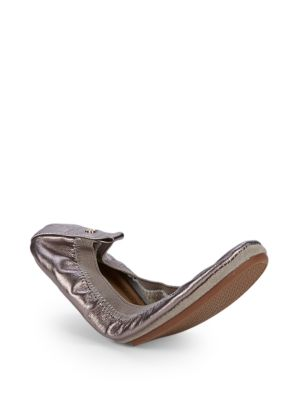 Yosi Samra Leather Ballet Flats