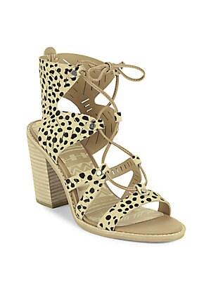 d26fc6e0add Lily Leopard Print Calf Hair Platform Sandals. WAS.  525.00. NOW.  149.99 ·  Dolce Vita - Luci Leather Cutout Ghillie Lace Sandals