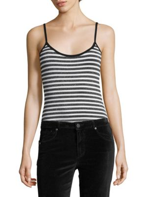 Paige Bodysuits Kinsley Striped Bodysuit