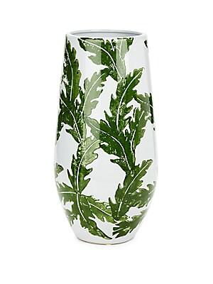 Small Leaf Ceramic Vase