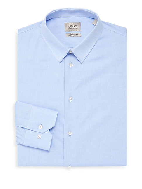 Cotton Modern-Fit Dress Shirt