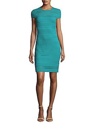 Short Sleeve Tropical Dress