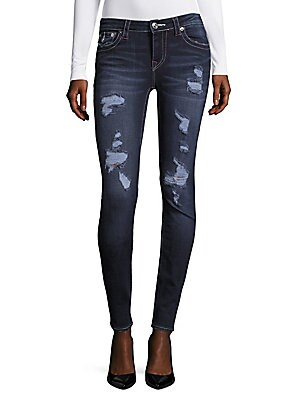 Rip Curvy Skinny Jeans