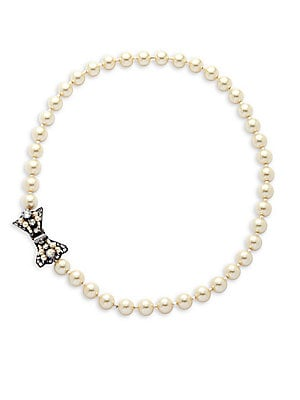 8MM Faux Pearl Necklace
