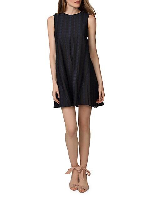 Donna Morgan SLEEVELESS TRAPEZE DRESS
