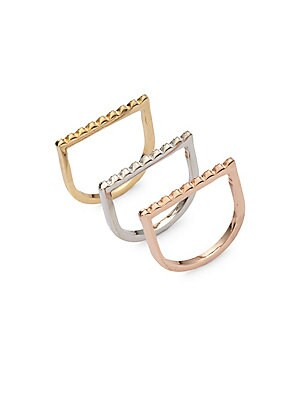 Pyramid Stackable Rings
