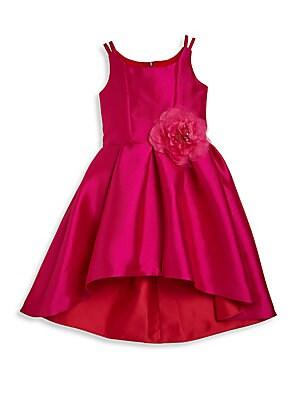 Girl's Hi-Lo Fit-&-Flare Dress