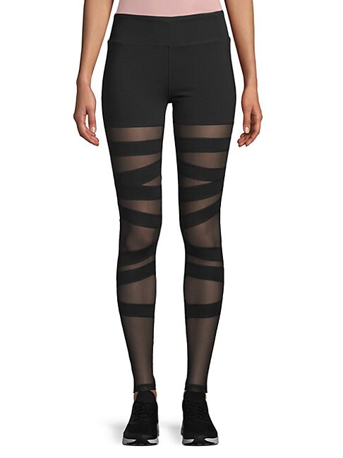 ELECTRIC YOGA | Ballerina Ankle-Length Leggings | Goxip