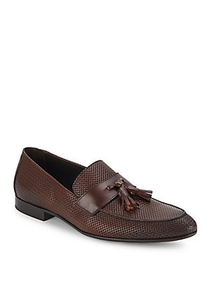 Bemar Tasseled Leather Loafers