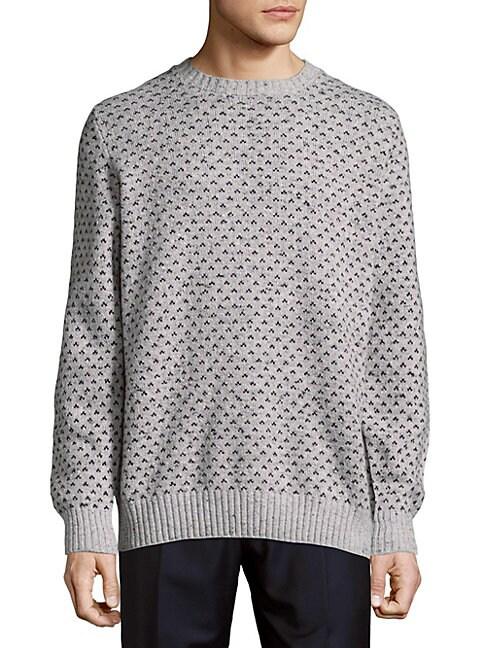 Rib-Trimmed Graphic Sweatshirt