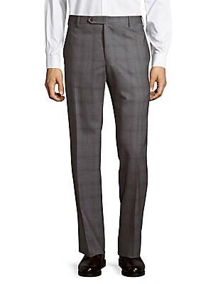 Parker Plaid Wool Pants