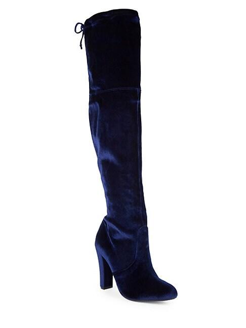 Gorgeosv Velvet Boots