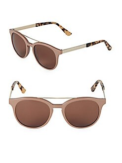 0775bb73a5cb9 QUICK VIEW. O by Oscar de la Renta. 51MM Round Sunglasses