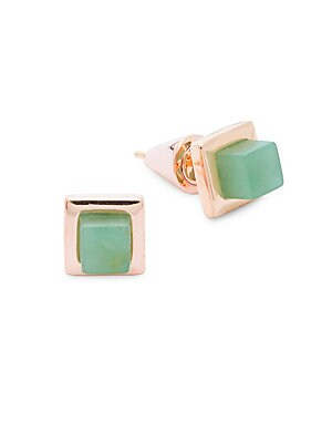 Rose Gold Pin Earrings