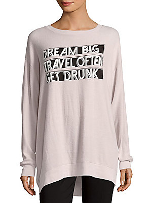 Front Graphic Sweater