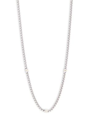Saks Fifth Avenue  14K Goldplated Box Chain Necklace