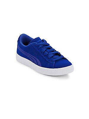 Puma BOY'S SUEDE CLASSIC BADGE SNEAKERS