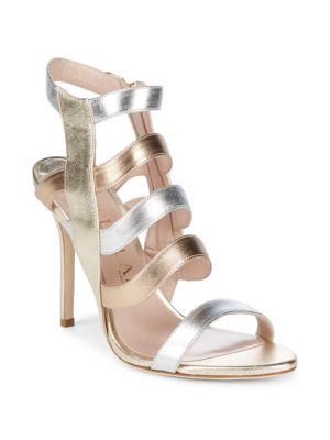 Aperlai Open Toe Leather Sandals
