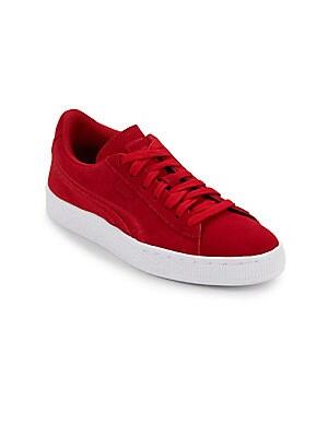 BOY'S SUEDE CLASSIC BADGE SNEAKERS